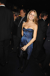 LYDIA FORTE at a party to celebrate the publication of the 2007 Tatler Little Black Book held at Tramp, 40 Jermyn Street, London on 7th November 2007.<br />