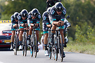Team Bora - Hansgrohe during the Tour de France 2018, Stage 3, Team Time Trial, Cholet-Cholet (35 km) on July 9th, 2018 - Photo Luca Bettini/ BettiniPhoto / ProSportsImages / DPPI