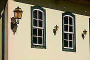Barra Longa_MG, Brasil...Detalhe do Hotel Xavier, que funciona em um casario antigo da cidade...Detail of Xavier hotel, its an ancient house in the town...Foto: LEO DRUMOND / NITRO.