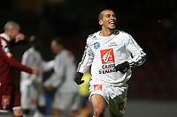 Fotball<br /> Frankrike<br /> Foto: DPPI/Digitalsport<br /> NORWAY ONLY<br /> <br /> FOOTBALL - FRENCH CUP 2008/2009 - 7TH ROUND - US CRETEIL v FC METZ - 21/11/2008 - JOY MADJID BOUABDALLAH (CRE) AFTER HIS GOAL