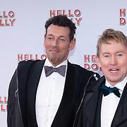 NLD/Rotterdam/20200308 - Hello Dolly premiere , Hans Cornelissen en partner Ton Backer