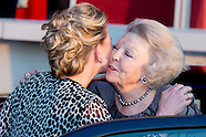 PRINSES MABEL EN PRINSES BEATRIX IN DELFT
