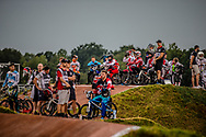at Round 7 of the 2019 UCI BMX Supercross World Cup in Rock Hill, USA