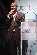 17 May 2011- New York, NY - Stephen Hill, President of Entertainment & Music Programming, BET at the 106 & Park's BET Awards Announcement held at BET Studios on May 17, 2011 in New York City. Photo Credit: Terrence Jennings
