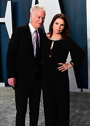 John McEnroe (left) and Patty Smyth attending the Vanity Fair Oscar Party held at the Wallis Annenberg Center for the Performing Arts in Beverly Hills, Los Angeles, California, USA.