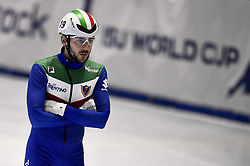February 9, 2019 - Torino, Italia - Foto LaPresse/Nicolò Campo .9/02/2019 Torino (Italia) .Sport.ISU World Cup Short Track Torino - Men 1500 meters Semifinals .Nella foto: Yuri Confortola..Photo LaPresse/Nicolò Campo .February 9, 2019 Turin (Italy) .Sport.ISU World Cup Short Track Turin - Men 1500 meters Semifinals.In the picture: Yuri Confortola (Credit Image: © Nicolò Campo/Lapresse via ZUMA Press)