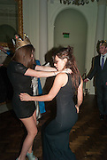 REBECCA HOFFNUNG; ; LILY ROBINSON; , Tatler magazine Jubilee party with Thomas Pink. The Ritz, Piccadilly. London. 2 May 2012