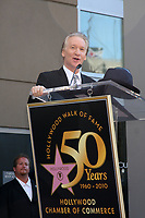 9/14/2010 Bill Maher speaks to the audience during his Hollywood Walk of Fame ceremony