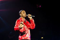 "© Licensed to London News Pictures. 30/01/2013. London, UK.   Trey Songz performing live at Hammersmith Apollo. Tremaine ""Trey"" Aldon Neverson better known by his stage name Trey Songz, is an American singer-songwriter, record producer, and actor.  Photo credit : Richard Isaac/LNP"