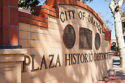 City of Orange Plaza Historic District