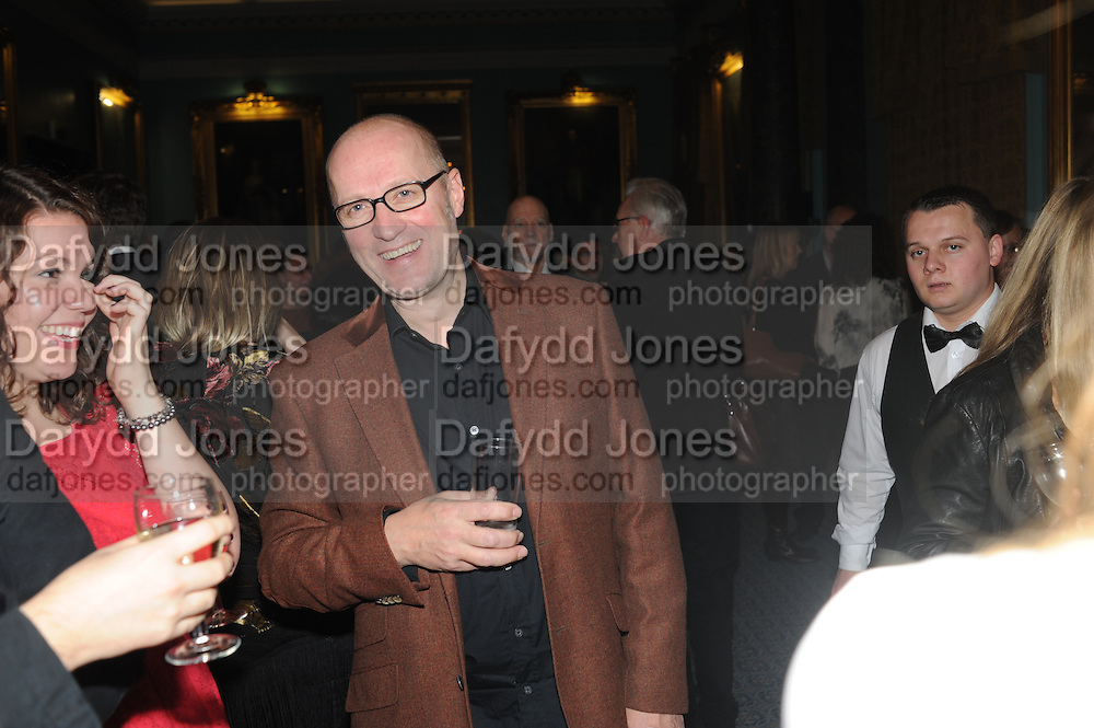 ADRIAN EDMONSON Party following the Theatre Royal press night performance of The Lion in Winter , The Institute of Directors. London. 15 November 2011. <br /> <br />  , -DO NOT ARCHIVE-© Copyright Photograph by Dafydd Jones. 248 Clapham Rd. London SW9 0PZ. Tel 0207 820 0771. www.dafjones.com.