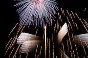 October 1, 2016: IMSA Petit Le Mans, Fireworks at the end of Petit Le Mans