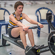 Katie Grant FEMALE HEAVYWEIGHT U17 2K Race #3  09:00am<br /> <br /> <br /> www.rowingcelebration.com Competing on Concept 2 ergometers at the 2018 NZ Indoor Rowing Championships. Avanti Drome, Cambridge,  Saturday 24 November 2018 © Copyright photo Steve McArthur / @RowingCelebration