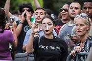 Demonstration at Victoria Ave Park in Santa Monica, CA.