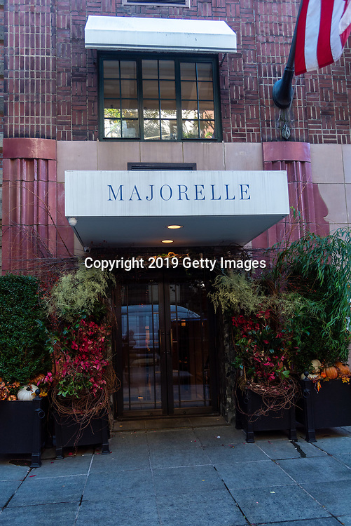 General view of Majorelle in the Lowell Hotel in New York City on November 1st, 2019. (Photo by Kris Connor/Getty Images for OK! Magazine)