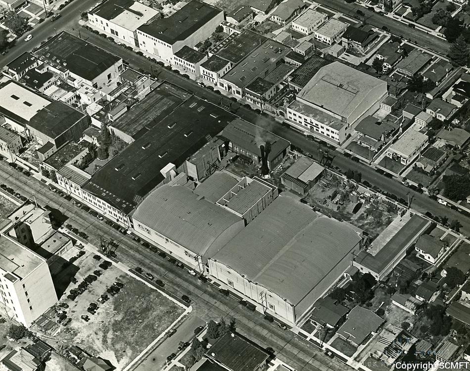 1930 Aerial photo of Columbia Studios