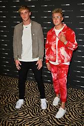 Jake Paul and Logan Paul Make an Appearance at the Cardi B Fashion Nova Launch. 08 May 2019 Pictured: Logan Paul, Jake Paul. Photo credit: SETC / MEGA TheMegaAgency.com +1 888 505 6342