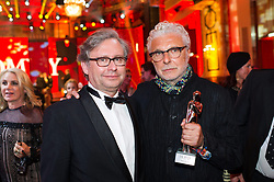 25.04.2015, Hofburg, Wien, AUT, Romy Gala 2015, im Bild v.l.n.r. Alexander Wrabetz und Andre Heller // during Romy Gala 2015 at Hofburg in Vienna, Austria on 2015/04/25, EXPA Pictures © 2015, PhotoCredit: EXPA/ Michael Gruber