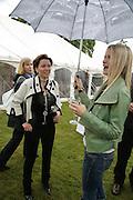 DANNI MINOGUE AND LADY ALEXANDRA GORDON-LENNOX,, Cartier Style et Luxe lunch. Goodwood.  24 June 2007.  -DO NOT ARCHIVE-© Copyright Photograph by Dafydd Jones. 248 Clapham Rd. London SW9 0PZ. Tel 0207 820 0771. www.dafjones.com.