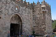 Israel, Jerusalem, Old City, Damascus Gate