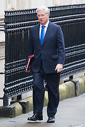 Downing Street, London, February 7th 2017. Defence Secretary Sir Michael Fallon arrives in Downing Street for the weekly UK cabinet meeting.