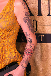 Model Ireland Baldwin, tattoo detail, at The 2017 MAXIM Hot 100 Party, produced by Karma International, held at the Hollywood Palladium in celebration of MAXIM's Hot 100 List on June 24, 2017 in Los Angeles, CA, USA (Photo by JC Olivera) *** Please Use Credit from Credit Field ***
