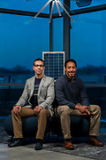 NovoMoto co-founders Mehrdad Arjmand, left, and Aaron Olson.. (Photo © Andy Manis)