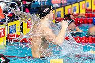 KAMMINGA Arno Netherlands NED Gold Medal<br /> <br /> 100 breaststroke men Final<br /> Glasgow 07/12/2019<br /> XX LEN European Short Course Swimming Championships 2019<br /> Tollcross International Swimming Centre<br /> Photo  Giorgio Scala / Deepbluemedia / Insidefoto