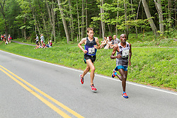 Ben True, Patrick Makau battle for third
