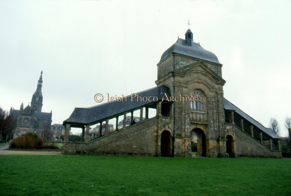 France, Brittany.  Ste. Anne d Auray, Scala Sancta