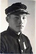 student portrait Japan ca 1940s