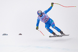 February 9, 2019 - Re, SWEDEN - 190209 Dominik Paris of Italy competes in the downhill during the FIS Alpine World Ski Championships on February 9, 2019 in re  (Credit Image: © Daniel Stiller/Bildbyran via ZUMA Press)