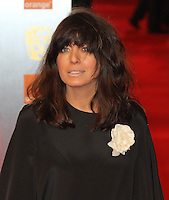 Claudia Winkleman Orange British Academy Film Awards BAFTA, Royal Opera House, Covent Garden,London, UK, 13 February 2011: Contact: Ian@Piqtured.com +44(0)791 626 2580 (Picture by Richard Goldschmidt)