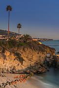 Laguna Beach Landscape California Stock Photo