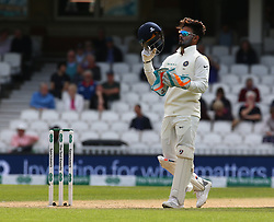 September 10, 2018 - London, England, United Kingdom - Rishabh Pant of India.during International Specsavers Test Series 5th Test match Day Four  between England and India at Kia Oval  Ground, London, England on 10 Sept 2018. (Credit Image: © Action Foto Sport/NurPhoto/ZUMA Press)