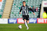 Plymouth Argyle's Gary Sawyer during the Sky Bet League 2 match between Plymouth Argyle and York City at Home Park, Plymouth, England on 28 March 2016. Photo by Graham Hunt.