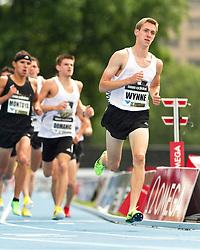 adidas Grand Prix professional track & field meet: high school boys Dream Mile, Henry Wynne