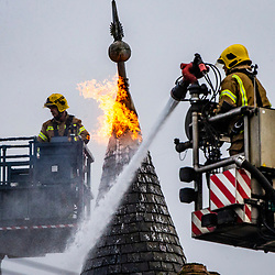 Fire on Kenmure Street, Glasgow