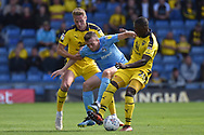 Coventry City midfielder Jordan Shipley (26) bursts through the Oxford United  defence during the EFL Sky Bet League 1 match between Oxford United and Coventry City at the Kassam Stadium, Oxford, England on 9 September 2018.