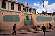 The Jamia Mosque, The ancient walled city of Hara. Situated in Eastern Ethiopia it is considered to be the fourth  holiest city in Islam with 82 mosques. It is a major commercial centre linked by trade routes with the rest of Ethiopia and the entire Horn of Africa.  Ethiopia