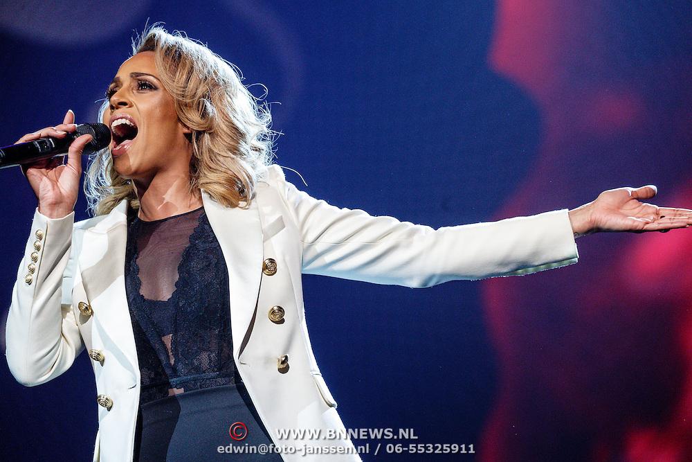 NLD/Amsterdam/20160217 - Holland zingt Hazes 2016, Gennis Grace