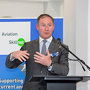 24.05.2018.       <br /> The Limerick Institute of Technology with Atlantic Air Adventures and funding from the Aviation Skillnet presented over forty certificates to Aviation professionals who have completed the Certificate in Aviation, The Aircraft Records Technician Level 7 and Part 21 Design, Level 7.<br /> <br /> Pictured at the event was Jim Gavin, The Irish Aviation Authority and Manager of the Dublin Football Team.<br /> <br /> LIT in partnership with Atlantic Air Adventures, CAE Parc Aviation, Part 21 Design and industry experts such as Anton Tams, GECAS, Don Salmon, CAE Parc Aviation and Mick Malone, Part 21 Design have developed and deliver these key training programmes with funding for aviation companies provided by The Aviation Skillnet.<br /> <br /> . Picture: Alan Place