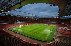 General view inside Emirates Stadium. - Mandatory by-line: Alex James/JMP - 24/10/2017 - FOOTBALL - Emirates Stadium - London, England - Arsenal v Norwich City - Carabao Cup