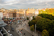 View from Fitzwilliam Hotel to Grafton Street and St. Stephen's Green, Dublin, Ireland