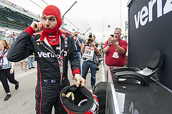 May 18, 2018 - Indianapolis, Indiana, United States of America - WILL POWER (12) of Australia prepares to strap into his Team Penske IndyCar to practice during ''Fast Friday'' for the Indianapolis 500 at the Indianapolis Motor Speedway in Indianapolis, Indiana. (Credit Image: © Chris Owens Asp Inc/ASP via ZUMA Wire)
