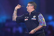 Gary Anderson during the PDC William Hill World Darts Championship at Alexandra Palace, London, United Kingdom on 23 December 2019.