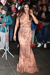 Priyanka Chopra attends the Harper's Bazaar 150th Anniversary event at the Rainbow Room in New York City.