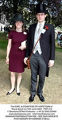 The EARL & COUNTESS OF HOPETOUN at Royal Ascot on 16th June 2004.  PWF 213