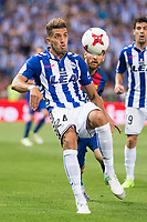 Deportivo Alaves's defender Zouhair Feddal during Copa del Rey (King's Cup) Final between Deportivo Alaves and FC Barcelona at Vicente Calderon Stadium in Madrid, May 27, 2017. Spain.<br /> (ALTERPHOTOS/BorjaB.Hojas)