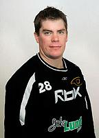 Ishockey Getligaen , sesongen 0708 portrett portretter  Torsten Yngveson , Stavanger STV